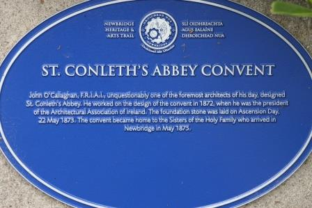 St. Conleth's Abbey Convent founded 1873