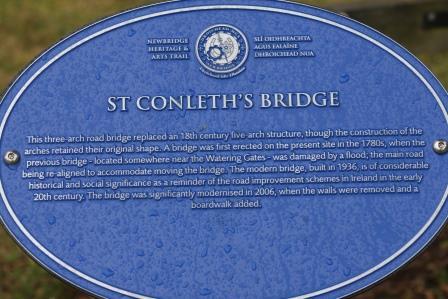St. Conleth's Bridge Built 1936, modernised 2006.