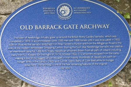 Old Barrack Gate Archway Built Circa 1813/1819