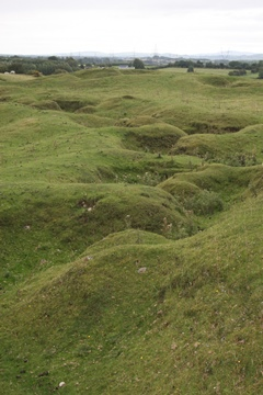 Curragh WW1 Training Trenches