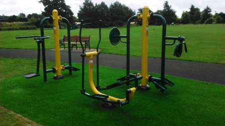 Outdoor Exercise Area