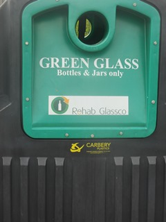Recycling Glass Green